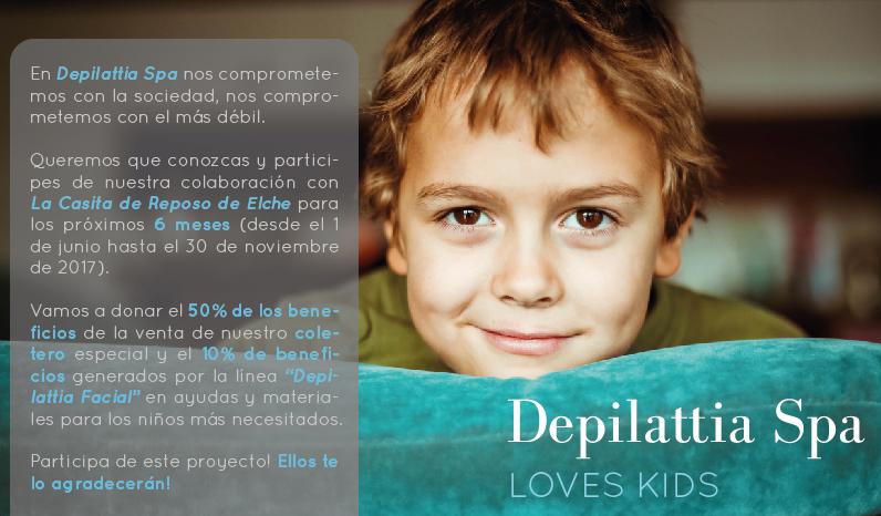 """Depilattia Loves Kids: Colaboramos con la """"Casita de Reposo"""" de Elche"""