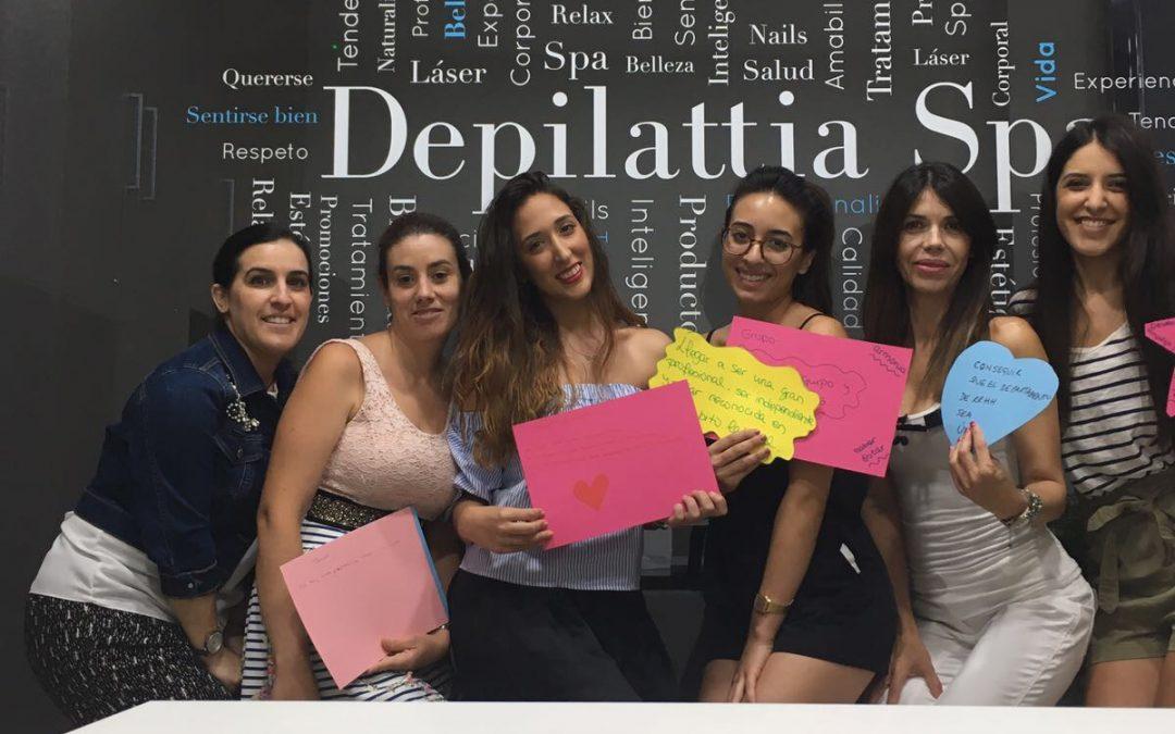La marca de franquicia de estética Depilattia SPA imparte el curso de formación Love Mark – Filosofía Corporativa
