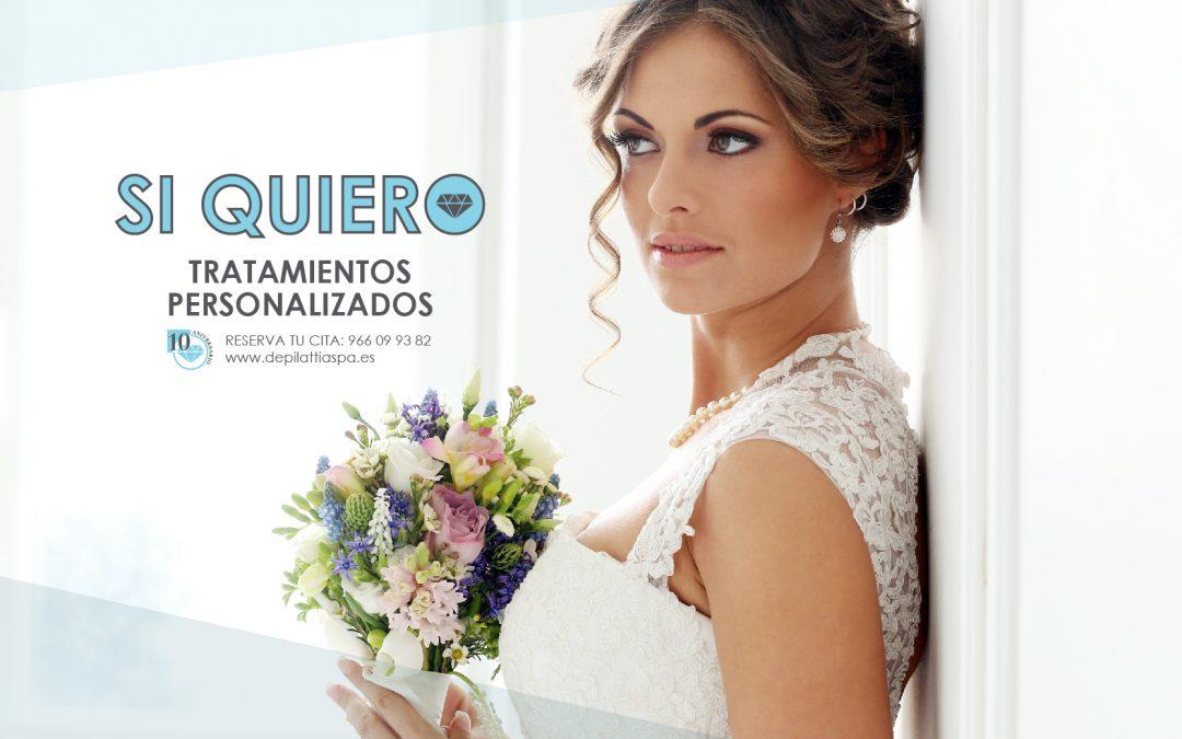 ESPECIAL NOVIAS: Packs y tratamientos de belleza personalizados