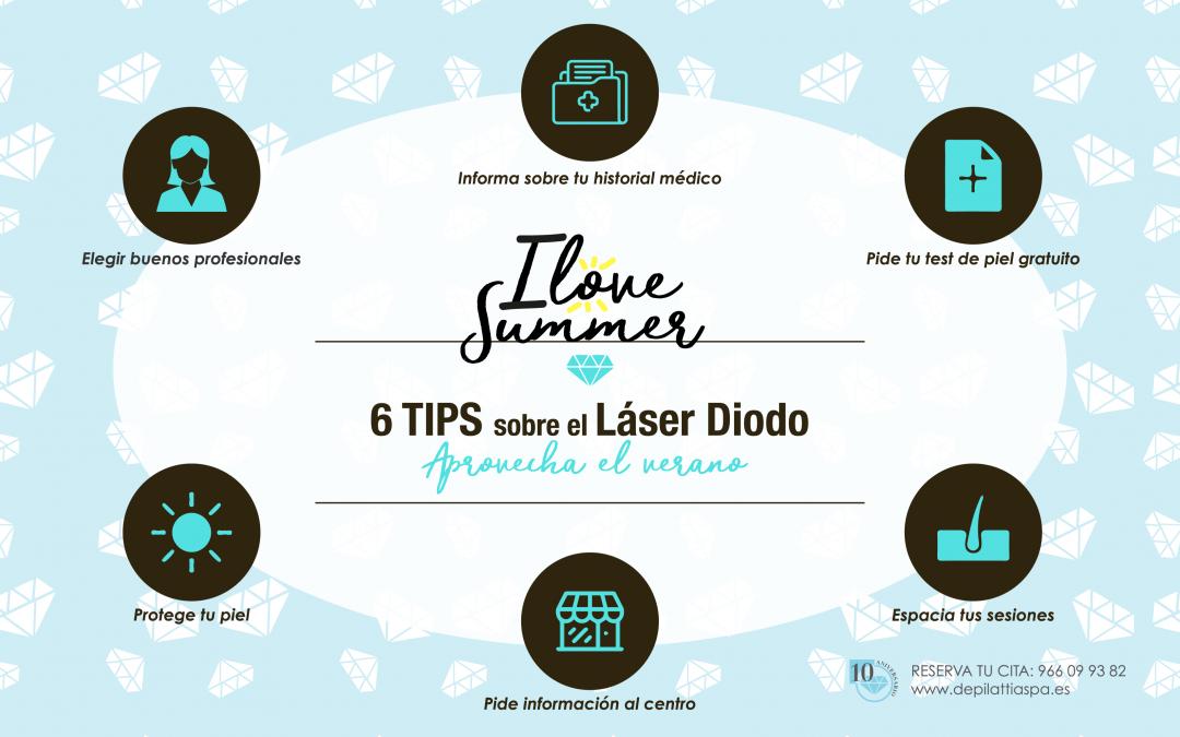 Láser de Diodo también en verano! 6 Consejos!