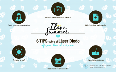 Láser de Diodo: Depilación definitiva también en verano!