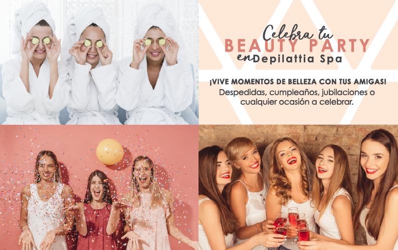 Beauty Party: Diversión y belleza en Depilattia Spa