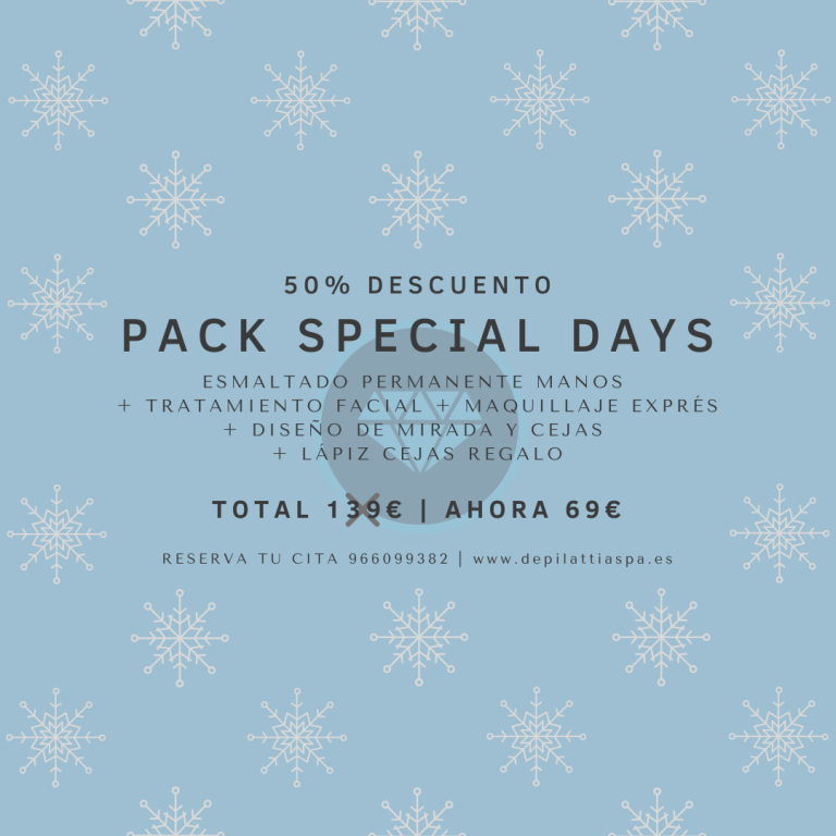 PACK SPECIAL DAYS